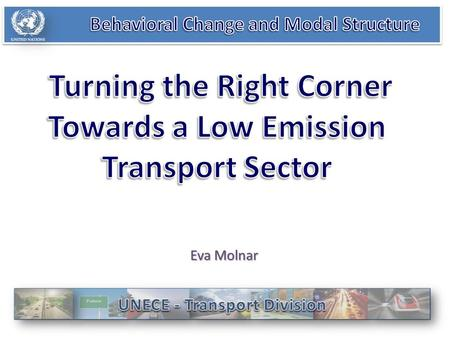 Eva Molnar. Automotive angle Technical Assistance ComplexityComplexity IntroductionIntroduction 1.Decision making bodies – 57 UN Transport Agreements,