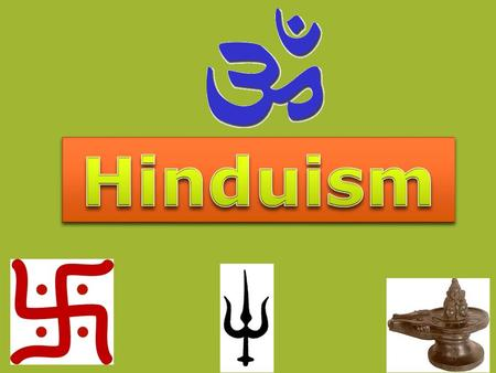 HINDU-SYMBOLS:  A variety of Hindu symbols are used in art, sacred objects and rituals. They usually signify Hindu concepts, the attributes of deities,