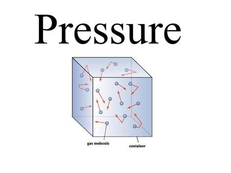 Pressure. Define vapour pressure in terms of observable and measurable properties. Construct and interpret a graph of vapour pressure versus temperature.