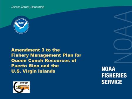 Amendment 3 to the Fishery Management Plan for Queen Conch Resources of Puerto Rico and the U.S. Virgin Islands.