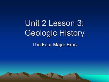 geological forces that shape the earth First, the overwhelming majority of geologic history occurred long before there were any human witnesses second the shape of a valley reflects the forces that carved it there are two important tools that geologists use to portray the history of the earth: the geologic time scale and.