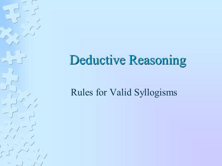 chapter 3 hypothetical syllogisms Science and hypothesis/chapter 1 from wikisource  the following are the hypothetical syllogisms:—the theorem is true of the number 1 now,.