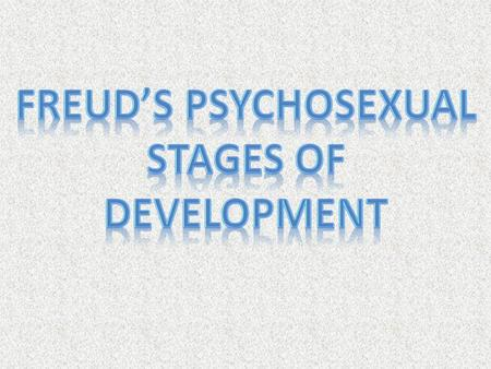 - POINTS ON THE BODY THAT ARE THE FOCUS OF FREUD'S STAGES OF DEVELOPMENT - A CHILD'S LIBIDO WILL FOCUS ON ONE OF THESE ZONES DURING EACH OF THE STAGES.