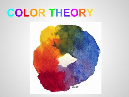 color theory research