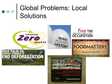 Global Problems: Local Solutions. Problems are Structural If economic problems are structural, than solutions should also be structural. Corporations.