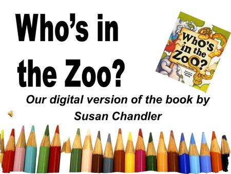 Our digital version of the book by Susan Chandler.