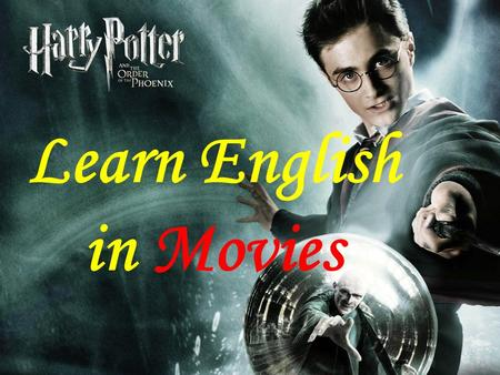 Learn English in Movies