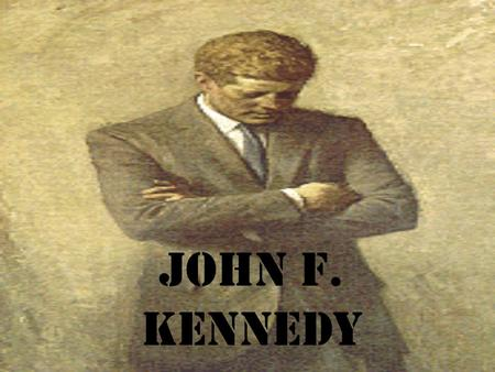 John F. Kennedy. 1961-1963 The Election of 1960 The election of 1960 was the closest since 1884; Kennedy defeated Richard Nixon by fewer than 119,000.