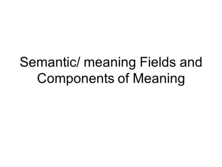 essay in meaning semantics truth Read the full-text online edition of meaning and truth: essential readings in modern semantics meaning and truth: essential readings in in meaning and truth.