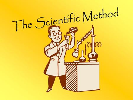 hypothesis question Scientists use experiments to test a hypothesis or answer a question.