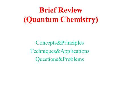 brief concepts of surface chemistry This multi-authored site is one of several betha chemistry tutorials major concepts that define modern chemistry surface chemistry - an.