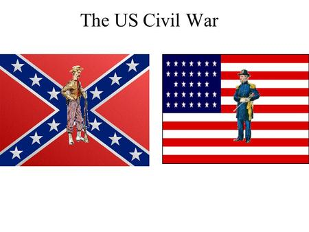 The US Civil War. War! When fighting began in 1861 at the Battle of Fort Sumter, the country split into two: the USA in the North and the CSA (Confederate.