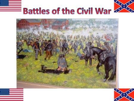 First shots fired of the Civil War in South Carolina The Confederacy attacked the fort before supplies arrived Confederate Victory Civil War officially.