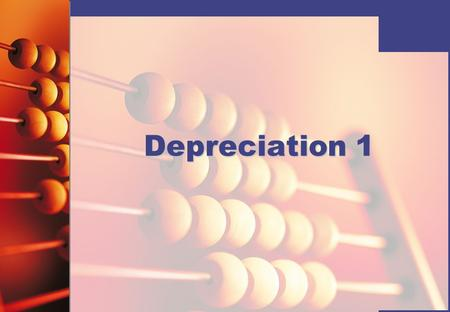 Depreciation 1. © Hodder Education 2008 Depreciation Depreciation is the apportioning of the cost of a fixed asset over the life of the asset.