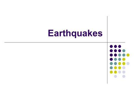 Earthquakes. Forces in Earth's Crust The movement of Earth's plates creates enormous forces that _________ or ________ the rock in the crust as if it.