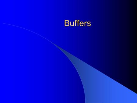 Buffers. What Are They? Solutions that resist changes in pH with addition of small amounts of acid or base Require two species: an acid to react with.