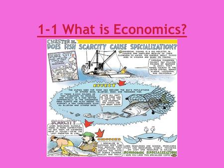 1-1 What is Economics?. I. Scarcity and the Science of Economics A. TINSTAAFL(There is no such thing as a free lunch) 1. Free? a.Ex. Burger- Buy one get.