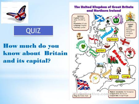 How much do you know about Britain and its capital? QUIZ.