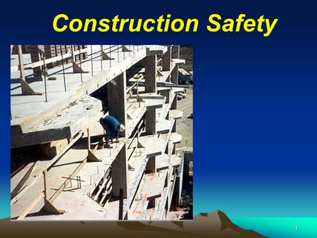 1 Construction Safety. 2 Construction Site …… A dangerous Workplace.