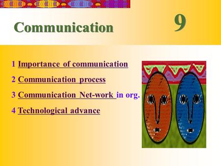 5-1 王青 - 管理学院 - 上海交通大学 2000-1 9 9 Communication 1 Importance of communicationImportance of communication 2 Communication processCommunication process 3.