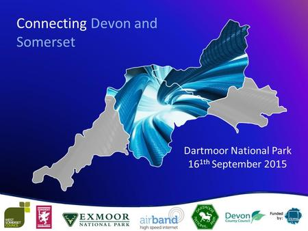 Connecting Devon and Somerset Dartmoor National Park 16 1th September 2015.