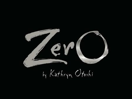 Zero was a big round number. When she looked at her reflection, she just saw a hole… right in her center.