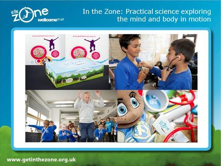 In the Zone: Practical science exploring the mind and body in motion.