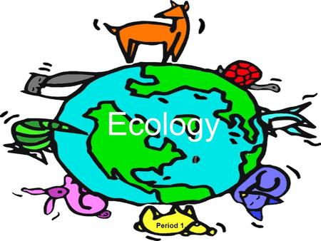 Ecology Period 1.. Energy Flow and Cycles of Matter Ultimate source of energy for life = The Sun Sun  Autotrophs  Heterotrophs Process of making own.
