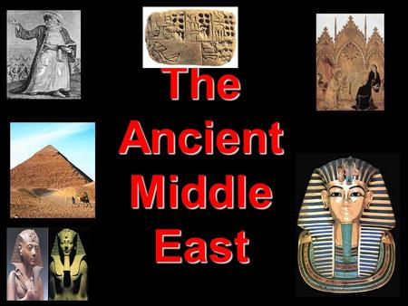The Ancient Middle East. The Rise Of Christianity.