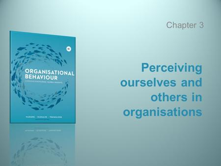 Perceiving ourselves and others in organisations