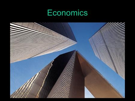 Economics The student will understand that the production, distribution, and consumption of goods/services produced by the society are affected by the.