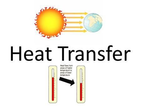 Heat Transfer. Heat is the transfer of thermal energy between substances that are at different temperatures.