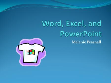 Melanie Peasnall. MS Word Microsoft Word is a word processing program that allows you to make text files. This can be anything from a note to a novel.