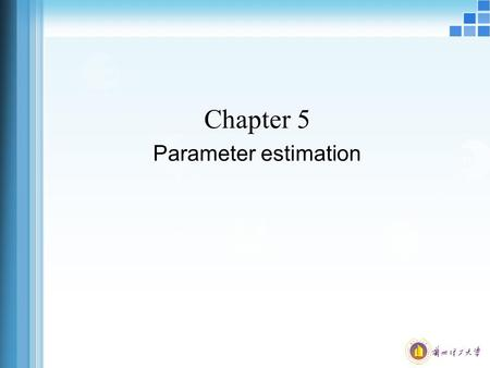 Chapter 5 Parameter estimation. What is sample inference? Distinguish between managerial & financial accounting. Understand how managers can use accounting.