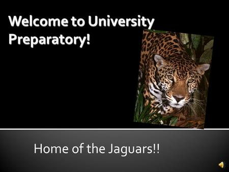 Home of the Jaguars!! Mrs. Wilkin Counselor Alpha A-L Mrs. Quevedo-Darling Counselor Alpha M-Z Mrs. Lillard College &Career Tech Ms. Trejo Destination.