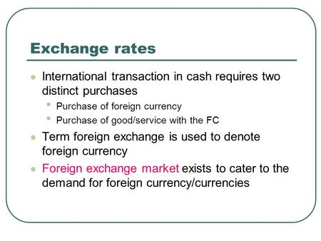 Forex remittance meaning