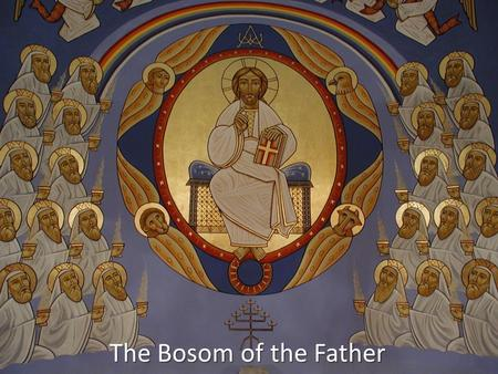 The Bosom of the Father. How many priests do you see? 1 23 45 6 78 9 10 11 12 3 21 6 54 8 7 10 9 12 11.
