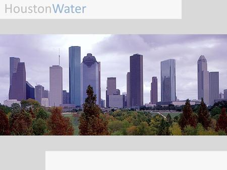 HoustonWater. Houston, Texas is the largest city in the state of Texas and fourth largest in the nation. The city was founded in 1836 and has grown steadily.