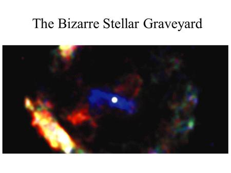 The Bizarre Stellar Graveyard. The Mass of Stellar Corpses White Dwarf 1.44 - 3 Solar Masses, Degeneracy pressure overwhelmed, Plasma becomes neutrons.