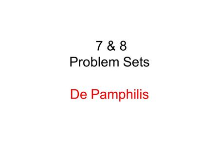 7 & 8 Problem Sets De Pamphilis. 7-11. ABC Incorporated shares are currently trading for $32 per share. The firm has 1.13 billion shares outstanding.