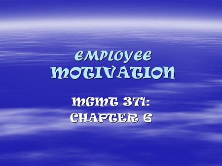 performance appraisals and motivation theories Good marks in reviews may reflect that an employee is satisfied and bad marks  may reflect the opposite in every employee, motivation maybe.