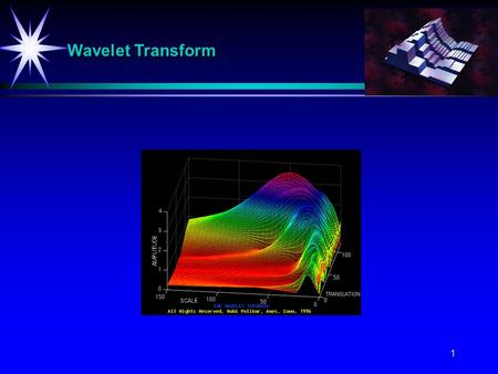 1 Wavelet Transform. 2 Definition of The Continuous Wavelet Transform CWT The continuous-time wavelet transform (CWT) of f(x) with respect to a wavelet.