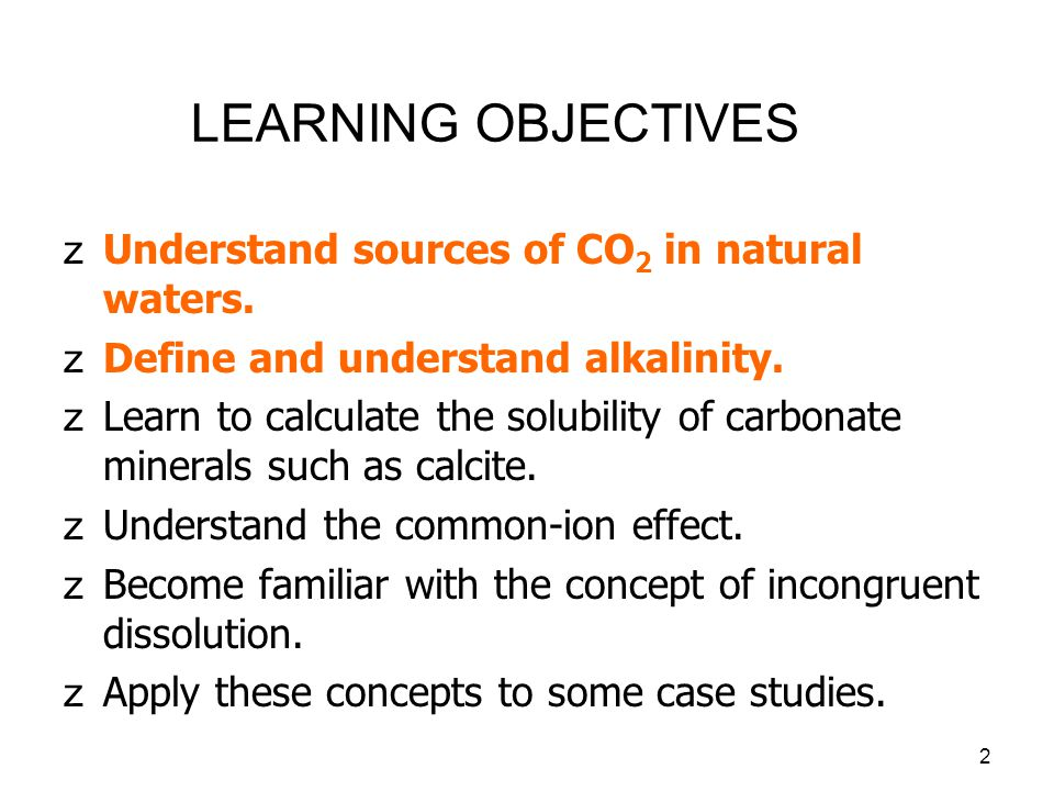 3 BRIEF REVIEW zWe saw in Lecture 3 that pH, p CO 2 and bicarbonate ion concentrations are all interrelated.