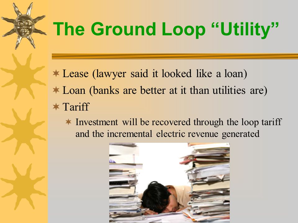 The Ground Loop Utility  H.R.