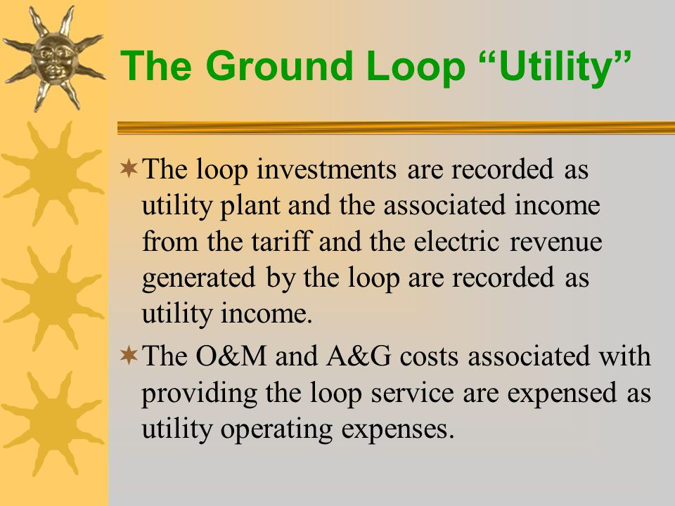 The Ground Loop Utility  The rate is subject to change at the discretion of the DMEA Board of Directors subject to DMEA's rate change process, procedures and bylaws.