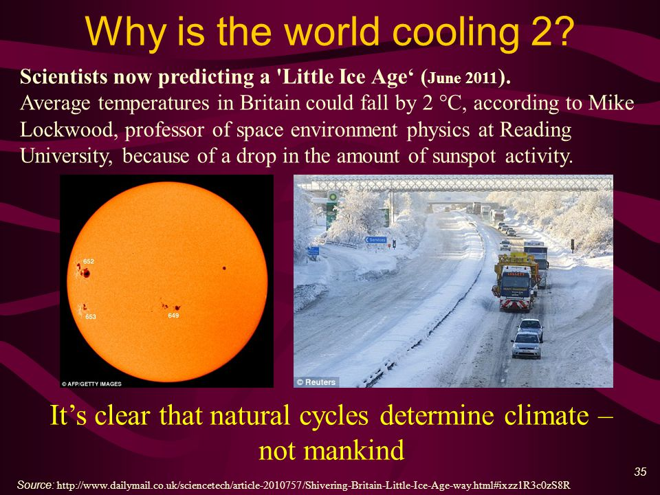 36 The Lie – climate deniers are bribed Quote: Dr.