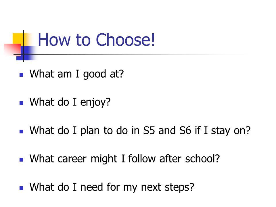 How Not to Choose.I like/dislike that teacher.