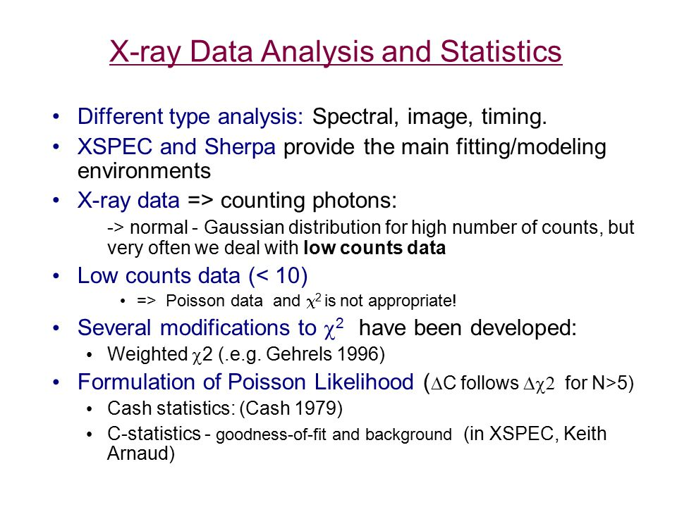 Steps in Data Analysis Obtain data - observations.