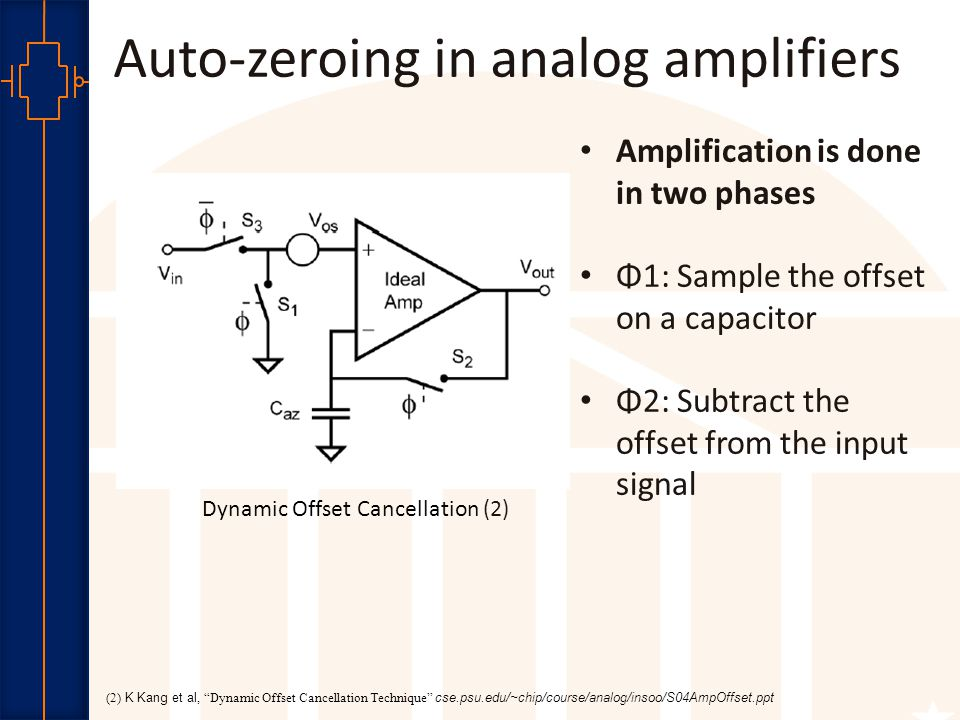 Robust Low Power VLSI DAZ Scheme Phase1 (ENR1) A zero differential input is applied to the sense amp.