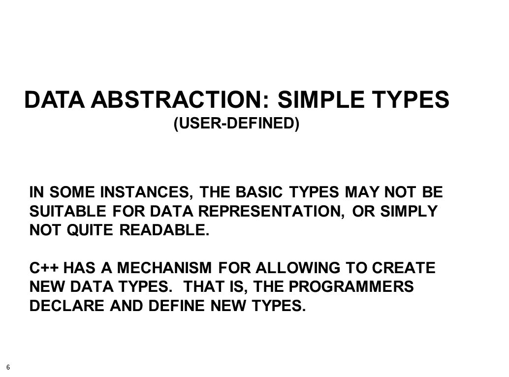7 EXAMPLE: TYPE DEFINITION typedef existing_type_name new_type_name ;